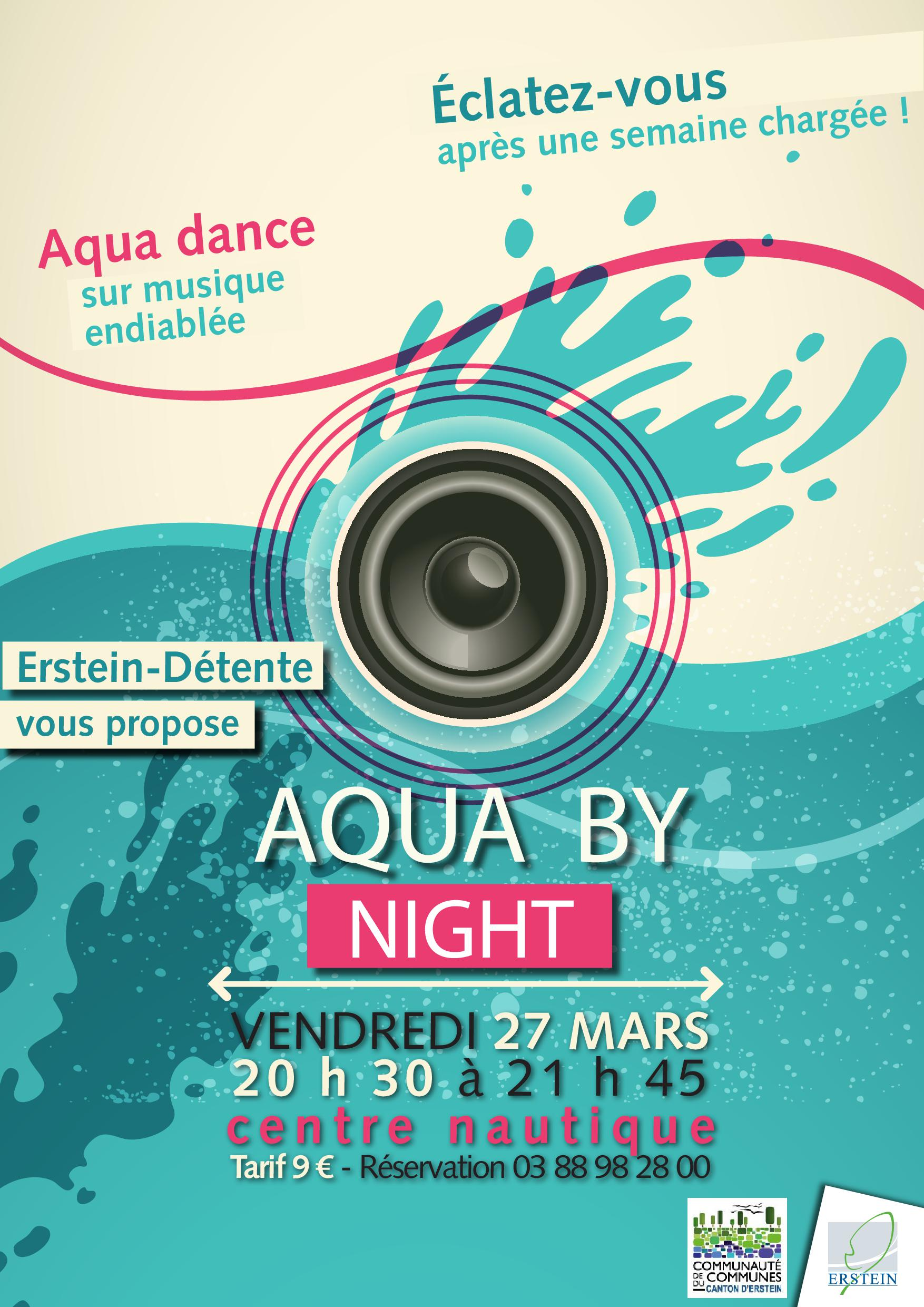 Evenement - AquaZumba